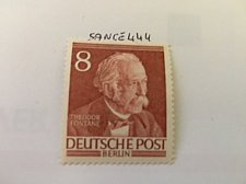 Buy Germany Berlin Famous Men 8p mnh 1953