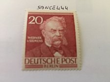 Buy Germany Berlin Famous Men 20p mnh 1953