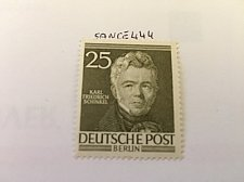 Buy Germany Berlin Famous Men 25p mnh 1953
