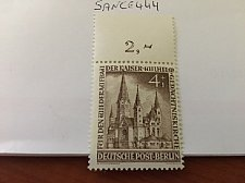 Buy Germany Berlin Kaiser Vilhems Church 4+1p mnh 1953