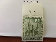 Buy Germany Berlin Kaiser Vilhems Church 10+5p mnh 1953