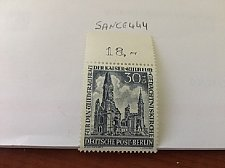 Buy Germany Berlin Kaiser Vilhems Church 30+15p mnh 1953