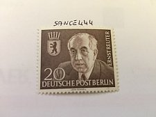 Buy Germany Berlin Ernst Reuter mnh 1954
