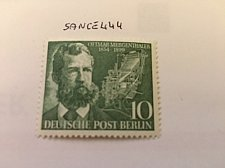 Buy Germany Berlin Ottmar Mergenthaler mnh 1954