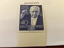 Buy Germany Berlin Richard Strauss mnh 1954