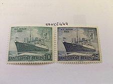 Buy Germany Berlin M/S Berlin mnh 1955