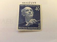 Buy Germany Berlin Wilhelm Furtwängler mnh 1955
