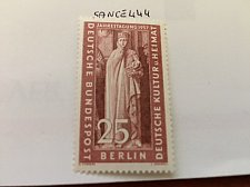 Buy Germany Berlin Cultural Council mnh 1957