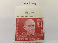 Buy Germany Berlin Otto Suhr mnh 1958
