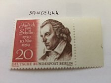 Buy Germany Berlin Von Schiller mnh 1959