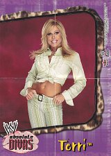 Buy Terri - WWE Absolute Divas 2002 Wrestling Mini Poster - Purple boarder