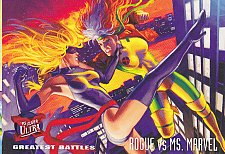 Buy Rogue vs Ms.Marvel - 1995 Marvel Comic Trading Card #137