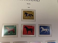 Buy Germany Berlin Horses mnh 1969