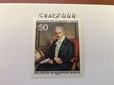 Buy Germany Berlin Alexander von Humboldt mnh 1969
