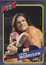 Buy John Morrison #52 - WWE 2008 Topps Chrome Refractors Wrestling Trading Card