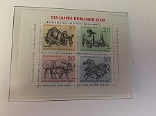 Buy Germany Berlin Zoo s/s mnh 1969