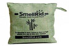 "Buy SMELLRID Reusable Charcoal Odor Eliminator Pouch – X Large (6"" x 6""): Treats 150 sq"