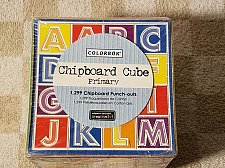 Buy Chipboard Cube Primary