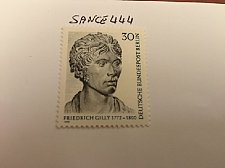 Buy Germany Berlin Friedrich Gilly mnh 1972
