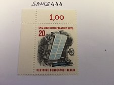 Buy Germany Berlin Stamp day mnh 1972