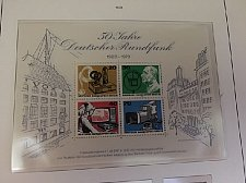Buy Germany Berlin Broadcasting s/s mnh 1973