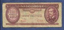 Buy Hungary 100 Forint 1984 Magayar Nemzeti Bank Banknote 015645