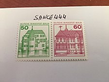 Buy Berlin Castle strip 50+60 top imperf mnh 1980