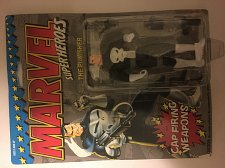 Buy Vintage 1990s Marvel Superheroes Punisher w Cap Firing Weapons New in original Box