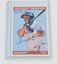 Buy MLB BILL HALL AUTOGRAPHED​ 2009 GOODWIN CHAMPIONS MNT