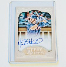 Buy MLB MITCH MORELAND AUTOGRAPHED 2012 TOPPS GYPSY QUEEN MNT