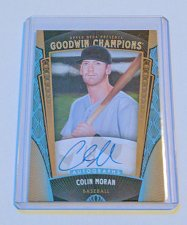 Buy MLB COLIN MORMAN AUTOGRAPHED 2015 GOODWIN CHAMPIONS BASEBALL MNT