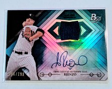 Buy MLB ANDRE RIENZO AUTOGRAPHED 2014 BOWMAN PLATINUM JERSEY REFRACTOR /199 MNT