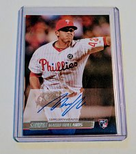 Buy MLB MARIO HOLANDS AUTOGRAPHED 2014 TOPPS STADIUM CLUB RC MNT