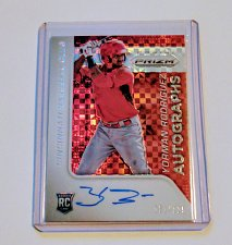 Buy MLB YORMAN RODRIGUEZ AUTOGRAPHED 2015 TOPPS PRIZM ROOKIE REFRACTOR /125 MNT