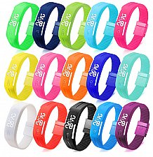 Buy LED casual digital wrist watch choose one