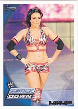 Buy Layla - WWE 2010 Topps Wrestling Trading Card #2