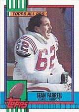 Buy Sean Farrell #425 - Patriots 1990 Topps Football Trading Card
