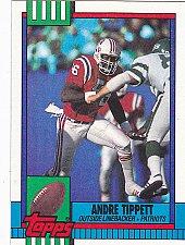 Buy Andre Tippett #421 - Patriots 1990 Topps Football Trading Card