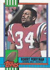 Buy Robert Perryman #420 - Patriots 1990 Topps Football Trading Card