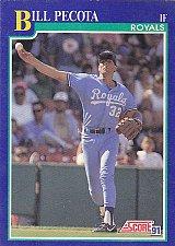 Buy Bill Pecota #513 - Royals 1991 Score Baseball Trading Card