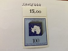 Buy Germany Antarctic treaty mnh 1981