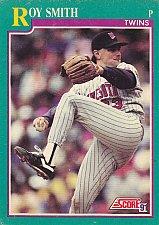 Buy Roy Smith #151 - Twins 1991 Score Baseball Trading Card