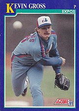 Buy Kevin Gross #22 - Expos 1991 Score Baseball Trading Card