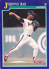Buy Johnny Ray #31 - Angels 1991 Score Baseball Trading Card