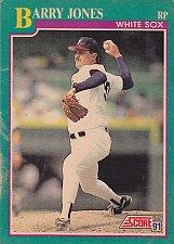 Buy Barry Jones #115 - White Sox 1991 Score Baseball Trading Card