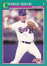Buy Charlie Hough #141 - Rangers 1991 Score Baseball Trading Card