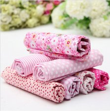 Buy 7 Pieces patterned Fabric Squares