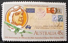Buy Stamp Australia 1984 The 50th Anniversary of the First Official Airmail - Australia,
