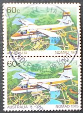 Buy Stamp Australia 1980 Military Training Planes Nomad, 1975 60c Pair