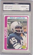 Buy Ray Jarvis - Graded - FGS 10 MINT - 1978 Topps Football Card #467